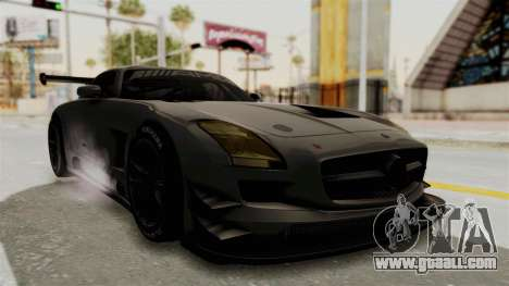 Mercedes-Benz SLS AMG GT3 PJ4 for GTA San Andreas right view