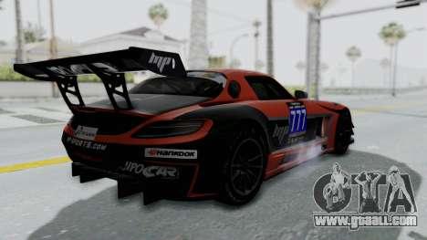 Mercedes-Benz SLS AMG GT3 PJ7 for GTA San Andreas interior