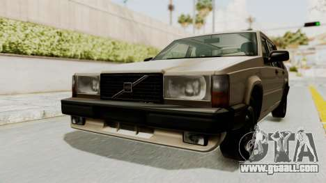 Volvo 740 for GTA San Andreas right view