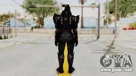 Mass Effect 3 Shepard N7 Destroyer Armor for GTA San Andreas third screenshot