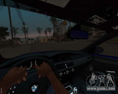 BMW M5 E60 v1.0 for GTA San Andreas upper view