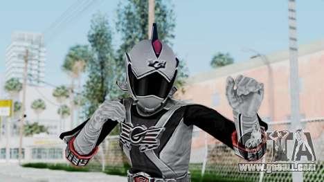Power Rangers RPM - Silver for GTA San Andreas