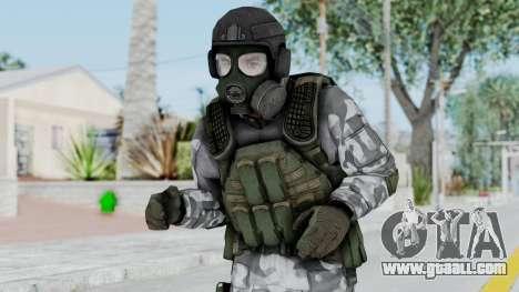 Black Mesa - HECU Marine v2 for GTA San Andreas