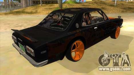 1971 Nissan GT-R Hakosuka for GTA San Andreas right view
