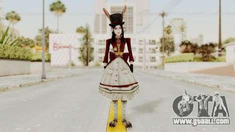 Alice LBL Madness Returns for GTA San Andreas second screenshot