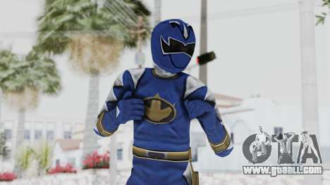 Power Rangers Dino Thunder - Blue for GTA San Andreas