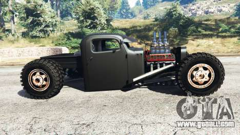 GTA 5 Dumont Type 47 Rat Rod left side view