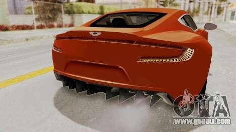 Aston Martin One-77 2010 Autovista Interior for GTA San Andreas inner view
