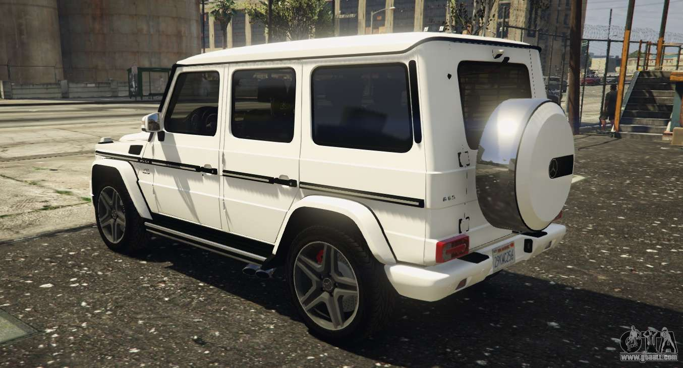 2013 mercedes benz g65 amg replace for gta 5 for Mercedes benz g65