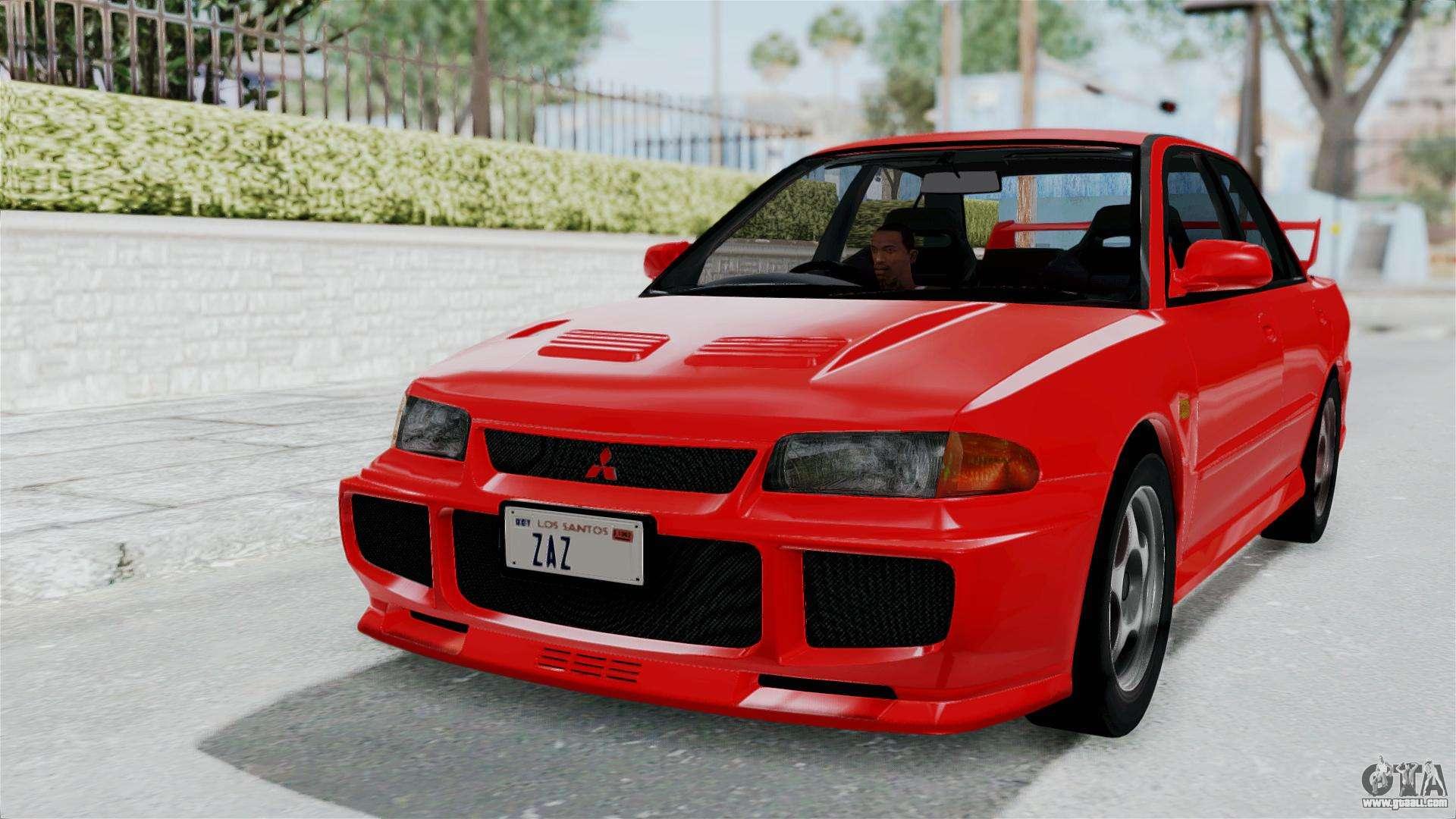 2016 Lancer Evolution >> Mitsubishi Lancer Evolution III 1996 (CE9A) for GTA San Andreas