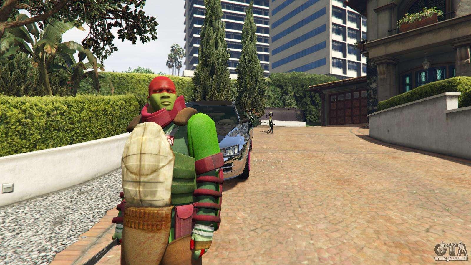 gta 5 ninja turtle