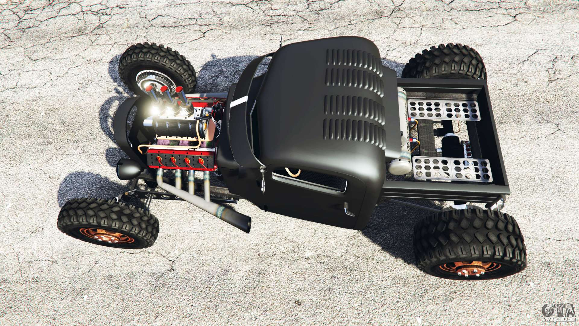 Dumont Type 47 Rat Rod For Gta 5