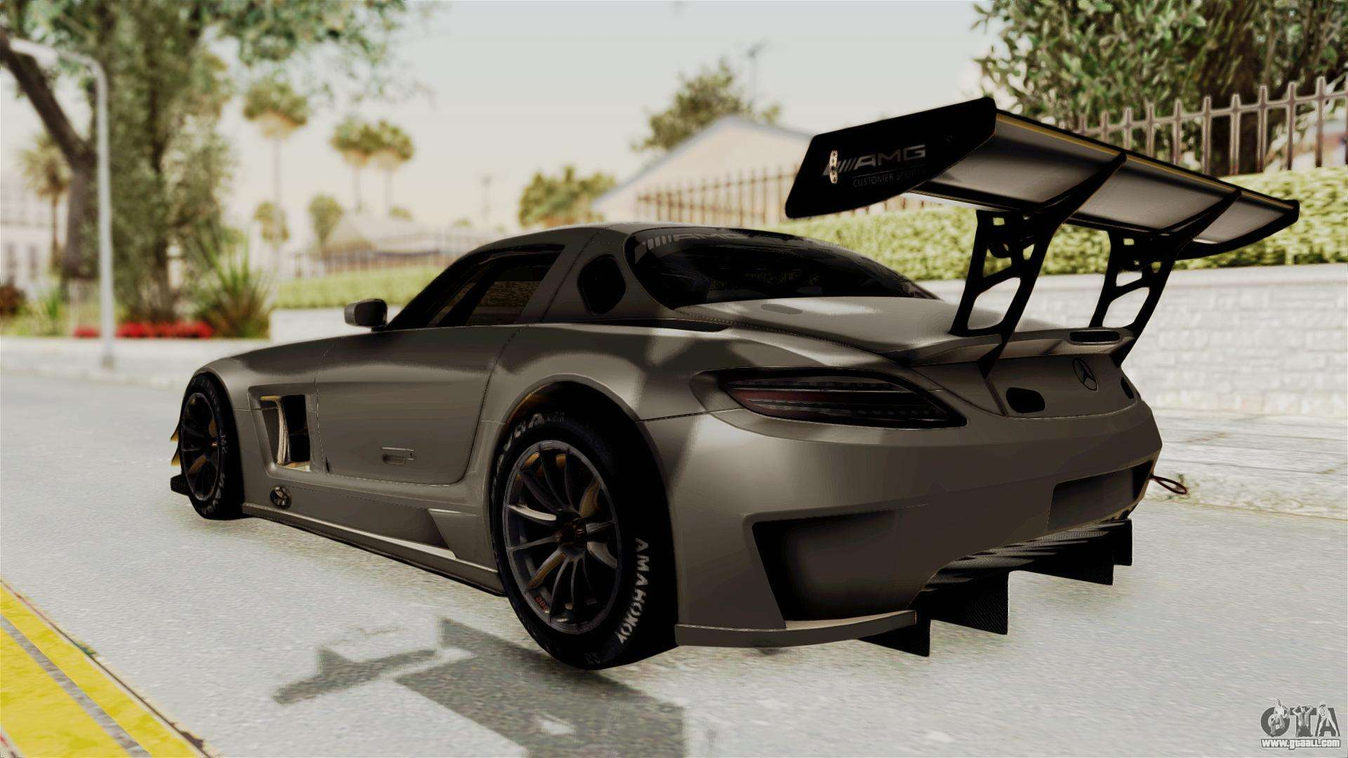 Mercedes benz sls amg gt3 pj4 for gta san andreas for Mercedes benz gt3