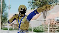 Power Rangers Samurai - Gold for GTA San Andreas