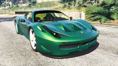 Ferrari 458 Italia GT2 for GTA 5