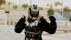 Mass Effect 3 Shepard Ajax Armor with Helmet for GTA San Andreas