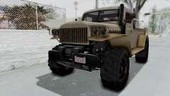 GTA 5 Bravado Duneloader Cleaner Worn for GTA San Andreas