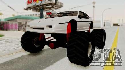 Pontiac Fiero GT G97 1985 Monster Truck for GTA San Andreas