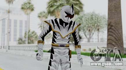 Power Rangers Dino Thunder - White for GTA San Andreas