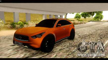 Infiniti FX37 for GTA San Andreas