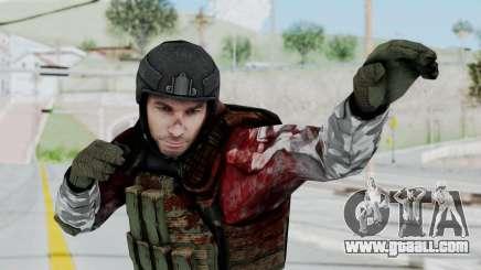 Black Mesa - Wounded HECU Marine v3 for GTA San Andreas