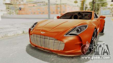 Aston Martin One-77 2010 Autovista Interior for GTA San Andreas