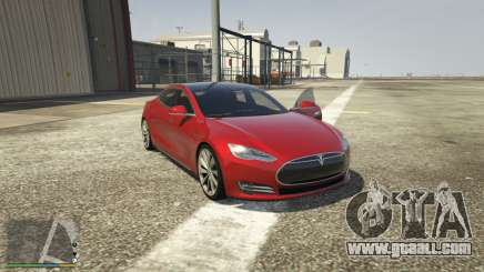 Tesla Model S for GTA 5