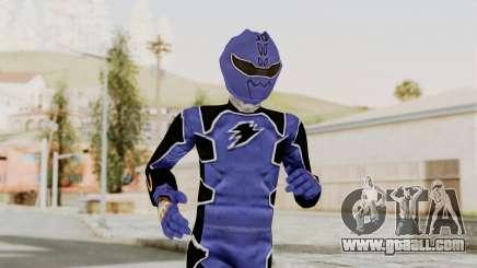 Power Rangers Jungle Fury - Blue for GTA San Andreas