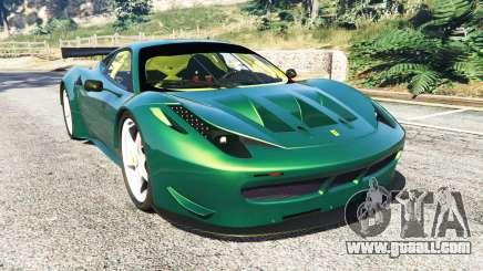 Ferrari 458 Italia GT2 for GTA 5