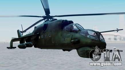 Mi-24V Polish Air Force 727 for GTA San Andreas