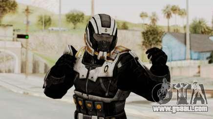 Mass Effect 3 Shepard Ajax Armor with Helmet for GTA San Andreas