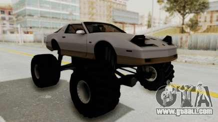 Pontiac Firebird Trans Am Monster Truck 1982 for GTA San Andreas