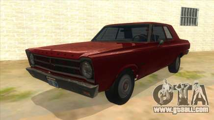 1965 Plymouth Belvedere 2-door Sedan for GTA San Andreas