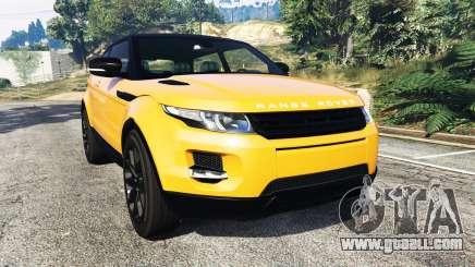 Range Rover Evoque for GTA 5