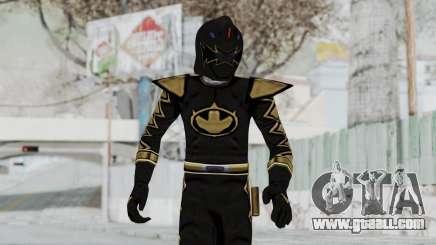 Power Rangers Dino Thunder - Black for GTA San Andreas