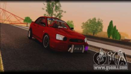 Subaru Impreza STi Drag Racing Unlim 500 for GTA San Andreas