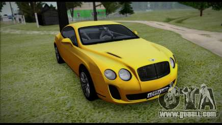 Bentley Continental for GTA San Andreas