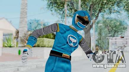 Power Rangers Ninja Storm - Blue for GTA San Andreas