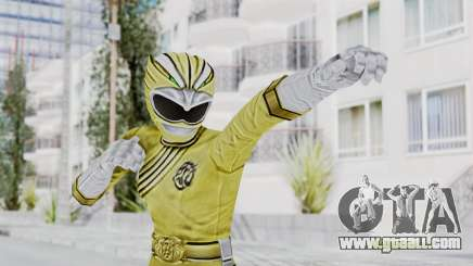 Power Rangers Wild Force - Yellow for GTA San Andreas