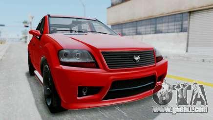 GTA 5 Benefactor Serrano for GTA San Andreas