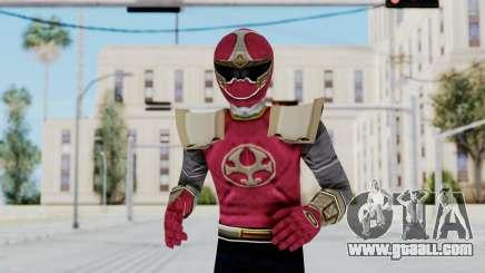 Power Rangers Ninja Storm - Crimson for GTA San Andreas