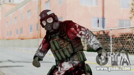 Black Mesa - Wounded HECU Marine Medic v2 for GTA San Andreas