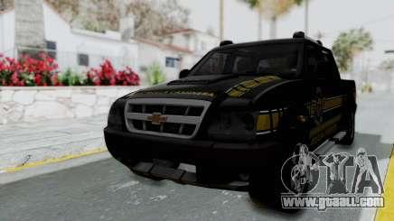 Chevrolet S10 Policia Caminera Paraguaya for GTA San Andreas