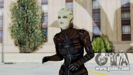 Mass Effect 1 Asari Clone Commando for GTA San Andreas
