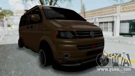 Volkswagen Transporter TDI Final for GTA San Andreas
