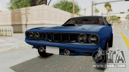 Plymouth Hemi Cuda 1971 Drag for GTA San Andreas