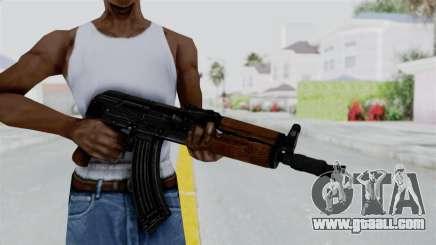 AK-47U for GTA San Andreas