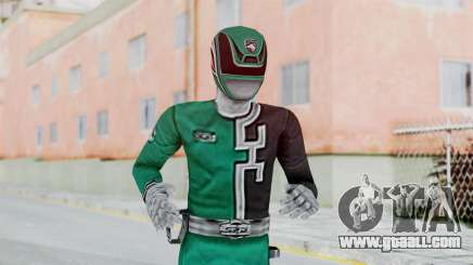 Power Rangers RPM - Green for GTA San Andreas