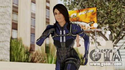 Mass Effect 3 Ashley Williams Ashes DLC Armor for GTA San Andreas