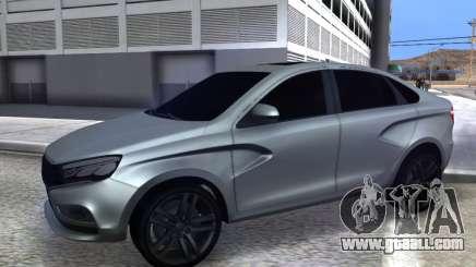 Lada Vesta HD (beta) for GTA San Andreas